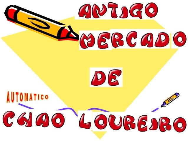 """Lisboa é pautada por novas """"descobertas"""".Desta feita, no antigo Mercado do Chão do Loureiro, ali ao Caldas, há um parque ..."""