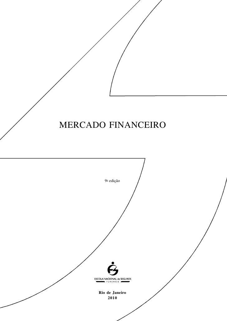 Apostila Mercado financeiro