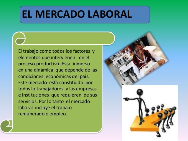 Mercado laboral o mercado de trabajo for Que es mercado exterior