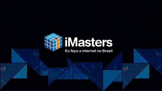 API do MercadoLivre & Live Coding (ops) iMasters 2015 - Vitória IT Project Manager Nicolás Coniglio Engenheiro de Software...