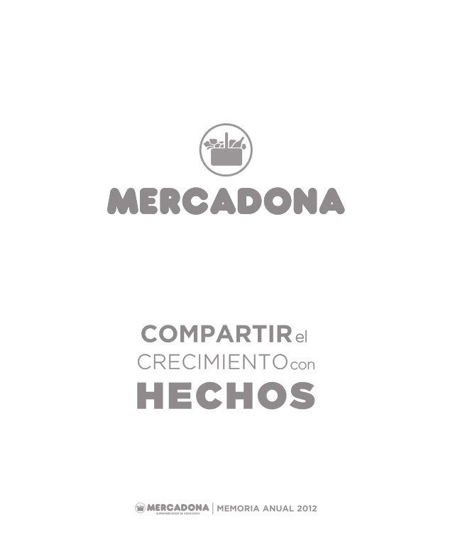 Mercadona Memoria 2012