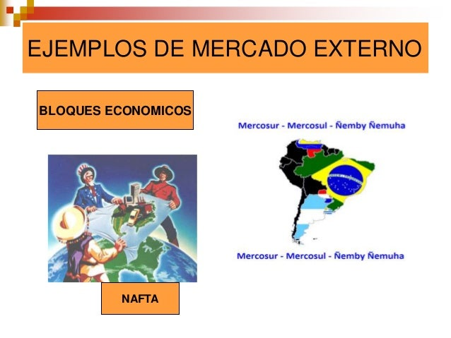 Mercados for Que es mercado exterior