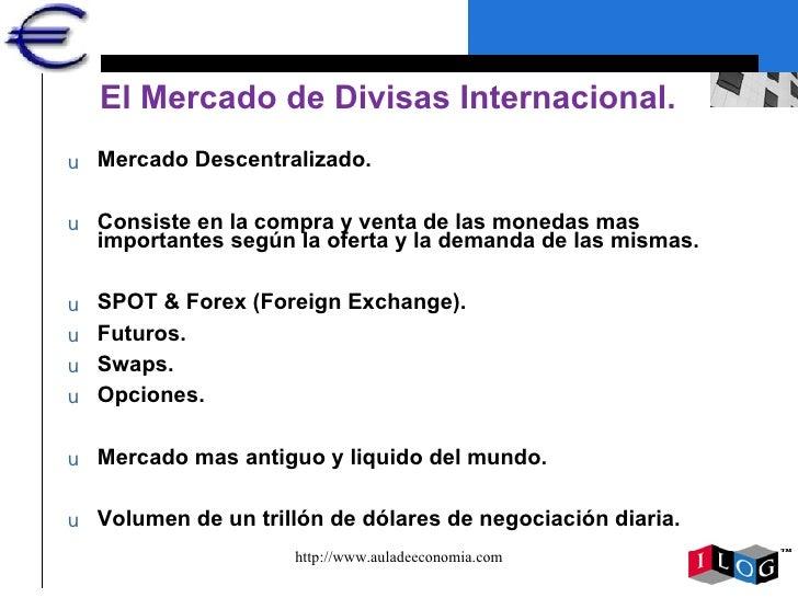 Mercado de divisas y forex