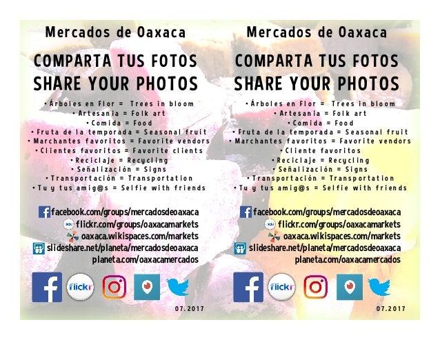 COMPARTA TUS FOTOS SHARE YOUR PHOTOS 0 7 . 2 0 1 7 • Á r b o l e s e n F l o r = T r e e s i n b l o o m • A r t e s a n...