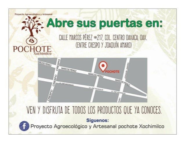 facebook.com/LaCosechaOaxaca oaxaca.wikispaces.com/lacosecha La Cosecha: Cultivando Sabores y Tradicione = The Harvest: Gr...