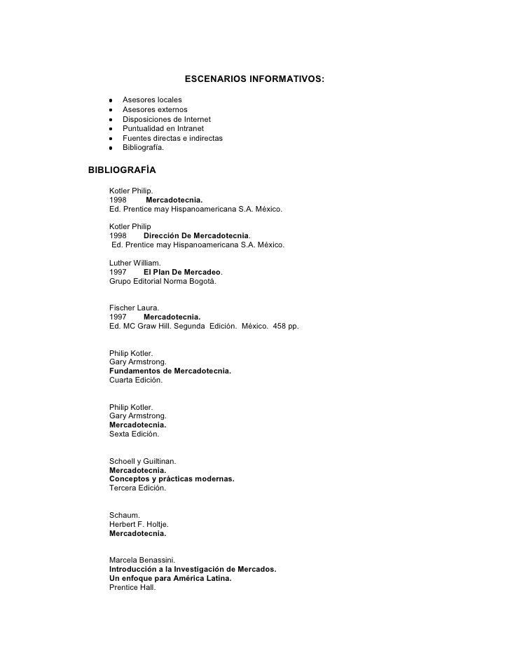 ESCENARIOS INFORMATIVOS:     •   Asesores locales    •   Asesores externos    •   Disposiciones de Internet    •   Puntual...