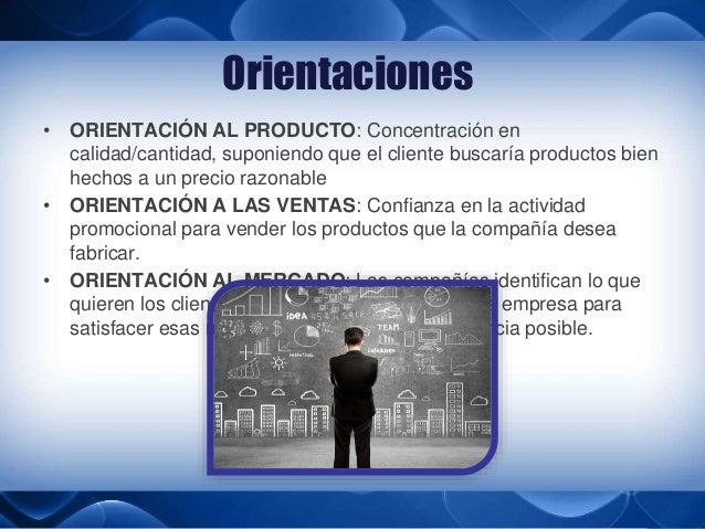 BREVE INTRODUCCION DE MERCADOTECNIA: ORIENTACION A LAS VENTAS