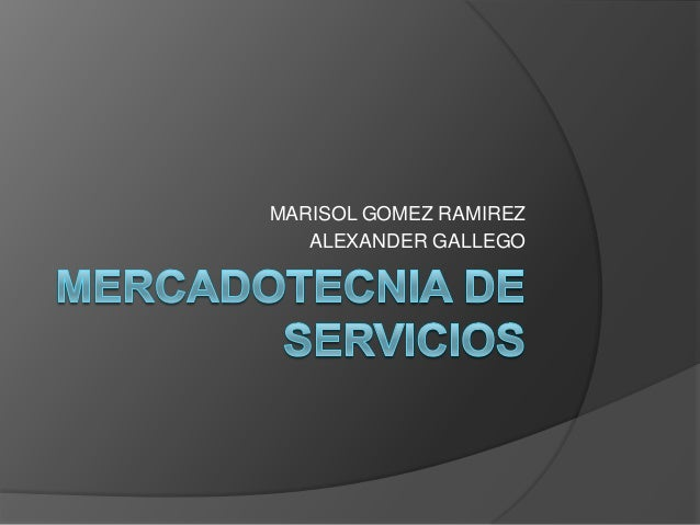 MARISOL GOMEZ RAMIREZ   ALEXANDER GALLEGO