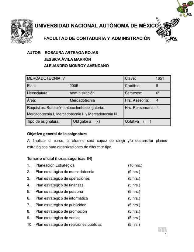 UNIVERSIDAD NACIONAL AUTÓNOMA DE MÉXICO FACULTAD DE CONTADURÍA Y ADMINISTRACIÓN AUTOR: ROSAURA ARTEAGA ROJAS JESSICA ÁVILA...