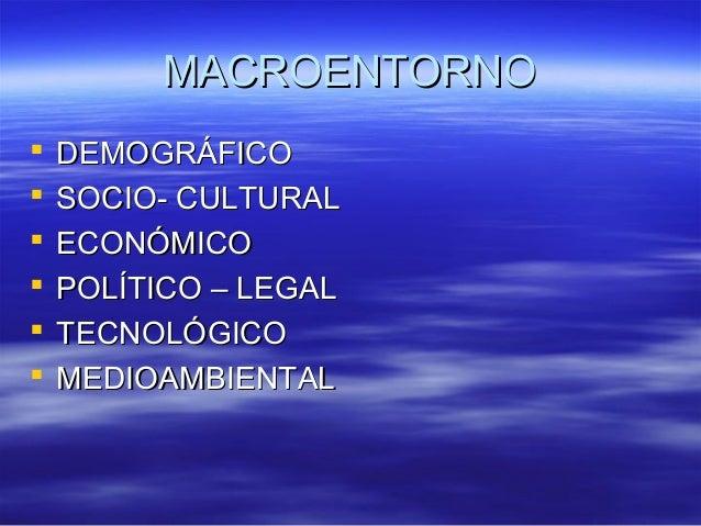 MMAACCRROOEENNTTOORRNNOO   DDEEMMOOGGRRÁÁFFIICCOO   SSOOCCIIOO-- CCUULLTTUURRAALL   EECCOONNÓÓMMIICCOO   PPOOLLÍÍTTIIC...