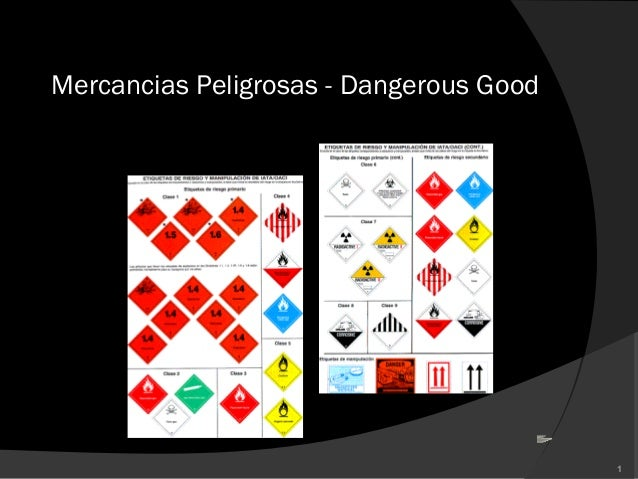 Mercancias Peligrosas - Dangerous Good1
