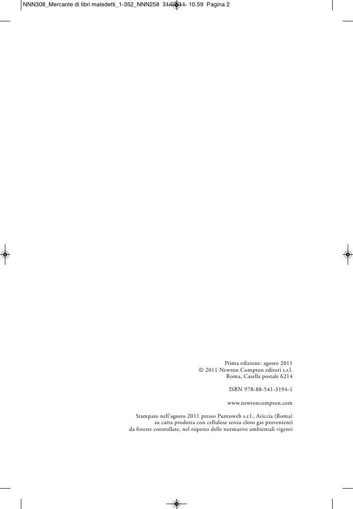 Prima edizione: agosto 2011                              © 2011 Newton Compton editori s.r.l.                             ...