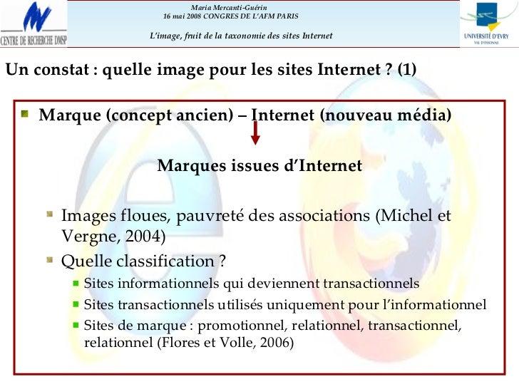Perception des sites Internet et de leur image par les utilisateurs Slide 2