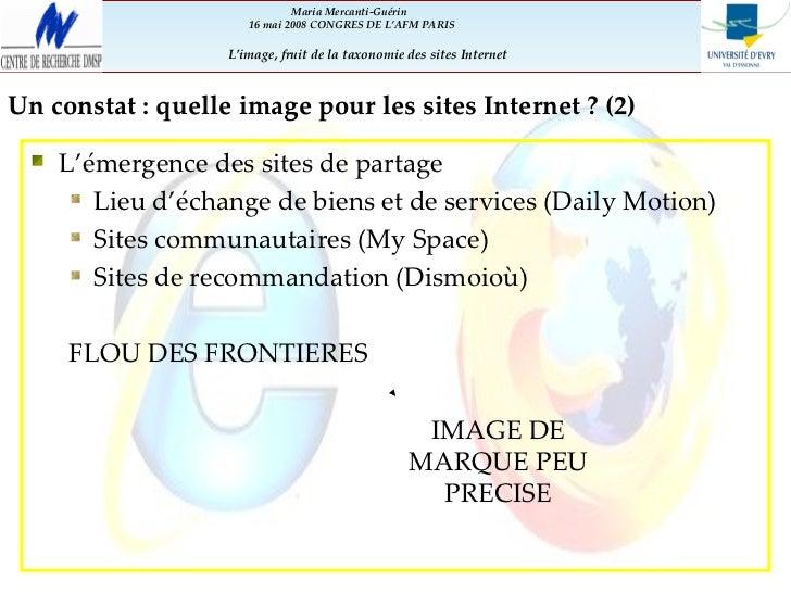 Perception des sites Internet et de leur image par les utilisateurs Slide 3