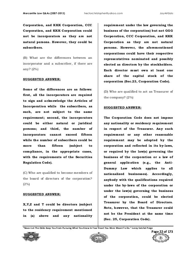 Mercantile law 2007 2013 ggg corporation ccc 22 mercantile law fandeluxe Image collections