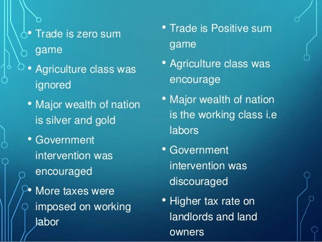 criticism of mercantilism