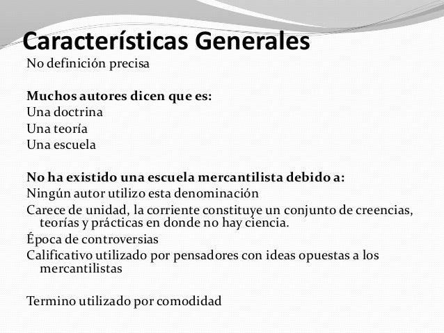 CARACTERISTICAS DEL MERCANTILISMO EPUB