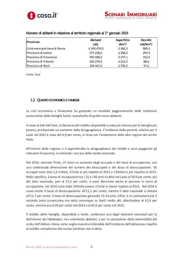 239770ec0b Mercato immobiliare lazio rapporto 2017 scenari immobiliari