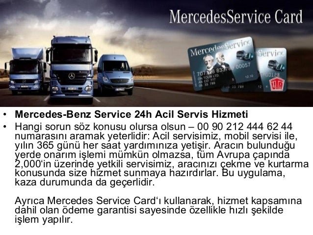 Mercedes sunum