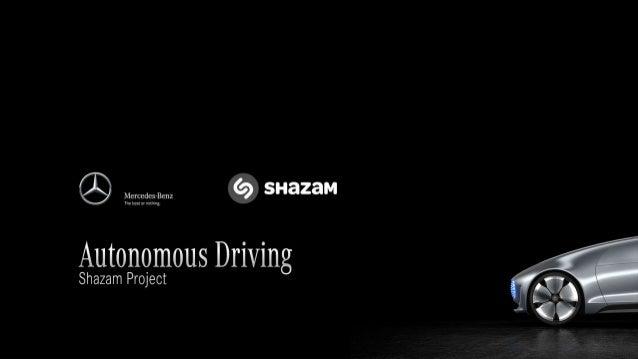 Mercedes benz autonomous driving shazam project for Mercedes benz autonomous driving