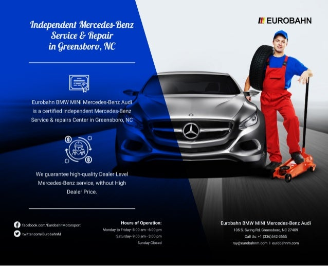 Independent Mercedes Benz Service U0026 Repair Greensboro Without The HIGH  DEALER PRICE
