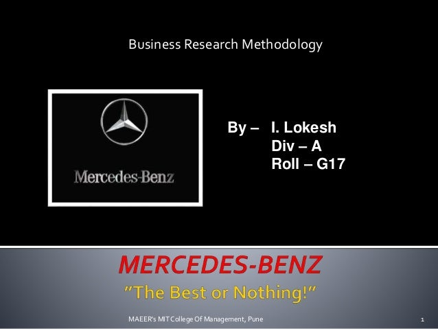 Mercedes Benz SWOT Analysis, Competitors & USP