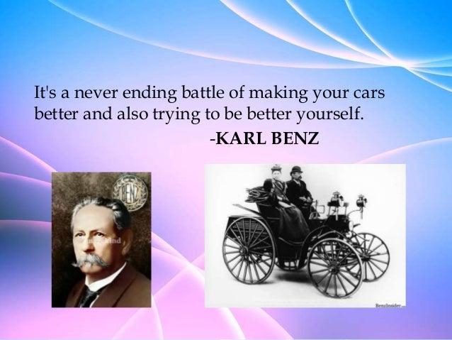 Karl Benz: Mercedes Benz Presentation