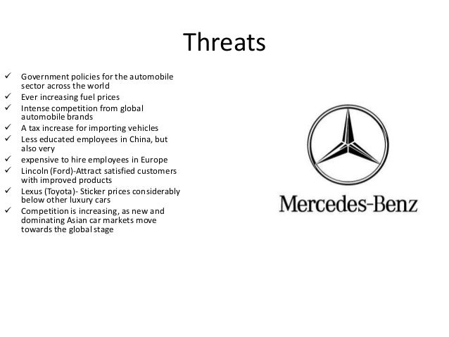 Mercedez Benz Swot