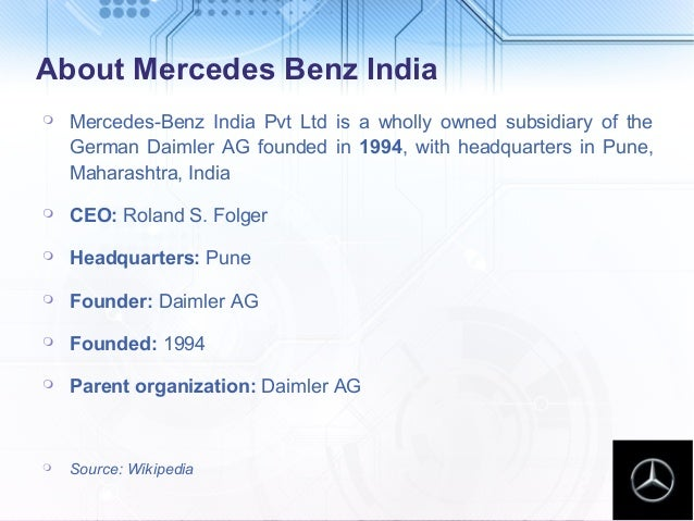 Mercedes Benz India Price Services Amp Accessories