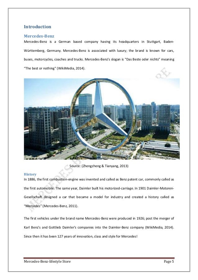 an overview of mercedes benz products marketing essay Essay: essay's marketing mix every company has a different technique or way that contributes to their success for some, it is the way they advertise their products/services and for others it is way the product/service is presented to the customers.
