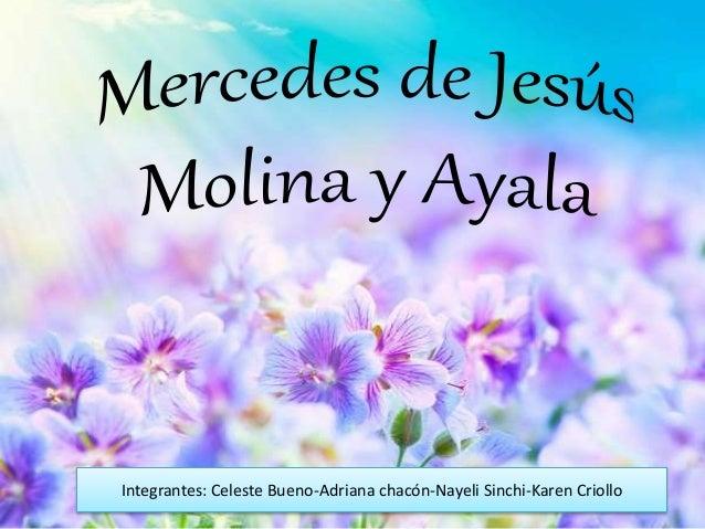 Mercedes De Jesús Con Frases