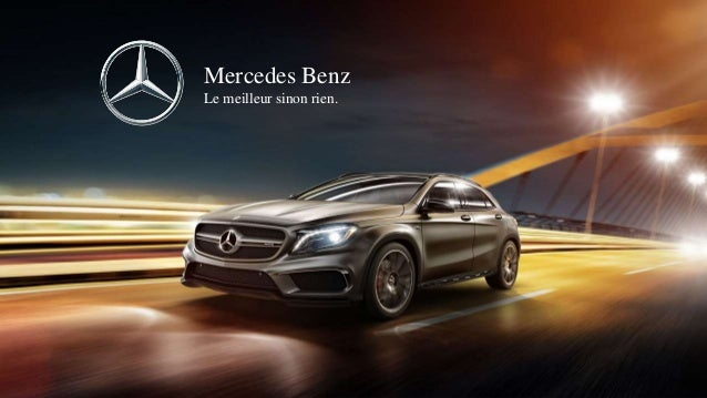 Etude campagne de communication mercedes le monolithe for Mercedes benz tagline