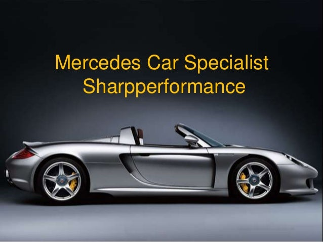 Mercedes Car Specialist Sharpperformance