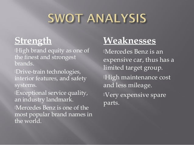Mercedes Strategy Management