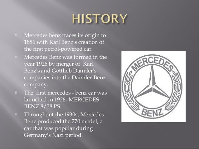 Charming 4.     Mercedes Benz ...