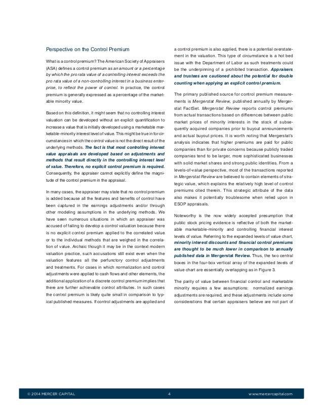 Mergerstat review 2013 controlling vs minority die metonymie beispiele