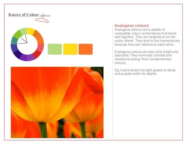Basics of Colour ..........                              Analogous colours                              Analogous colours ...