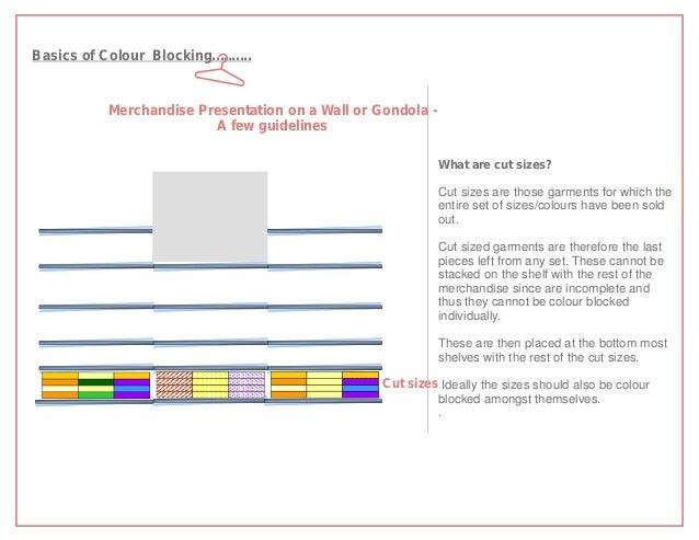Basics of Colour Blocking..........            Merchandise Presentation on a Wall or Gondola -                          A ...