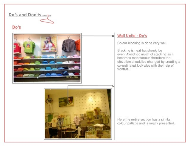 Do's and Donts........ Do's                          Wall Units - Do's                          Colour blocking is done ve...