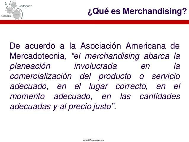 ABC del  Merchandising  Slide 2
