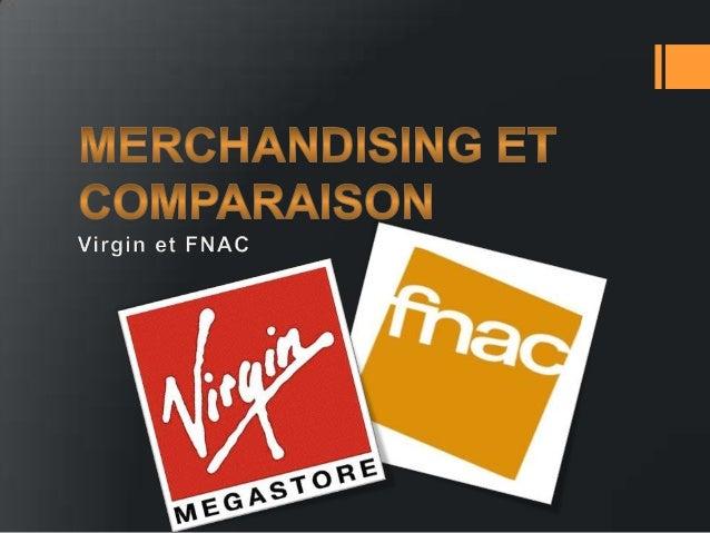 Merchandising et comparaison