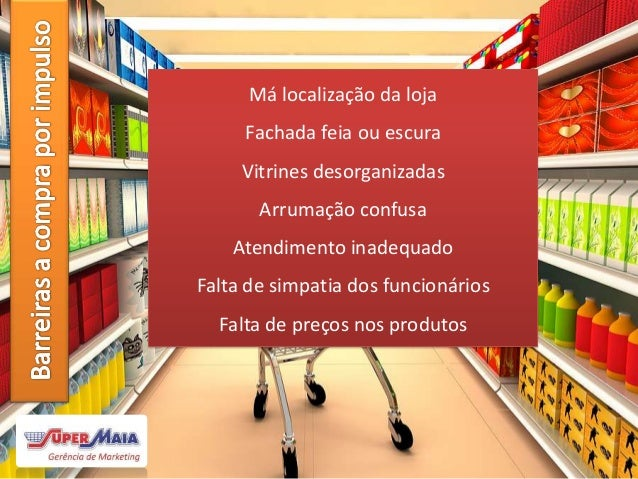 Merchandising em Supermercados