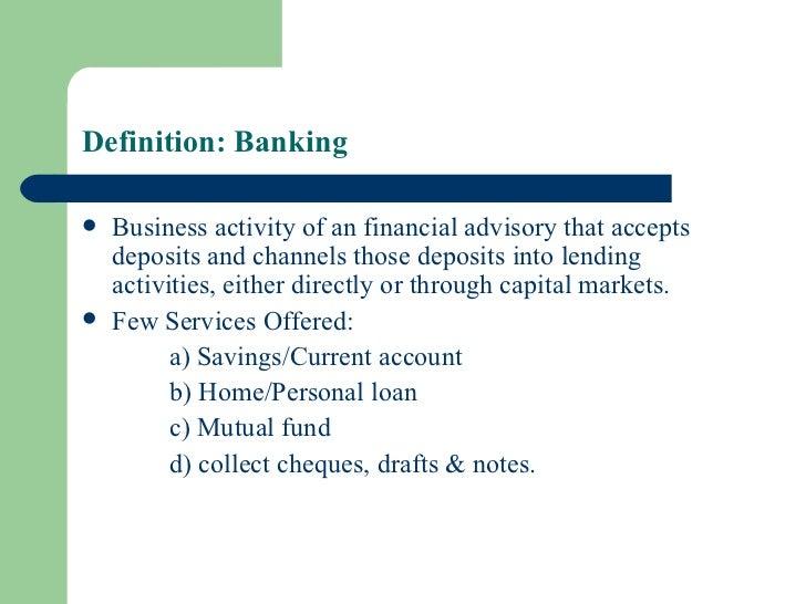 Merchant banking Slide 3