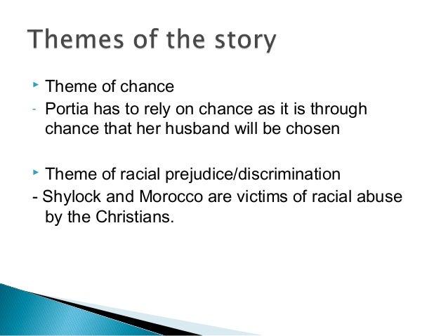 theme of prejudice in merchant of venice