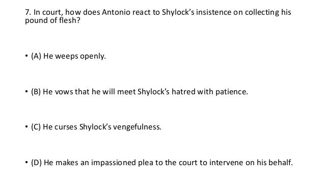 why does shylock hate antonio