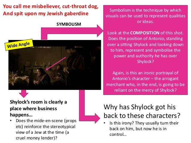 Shylock treated fairly