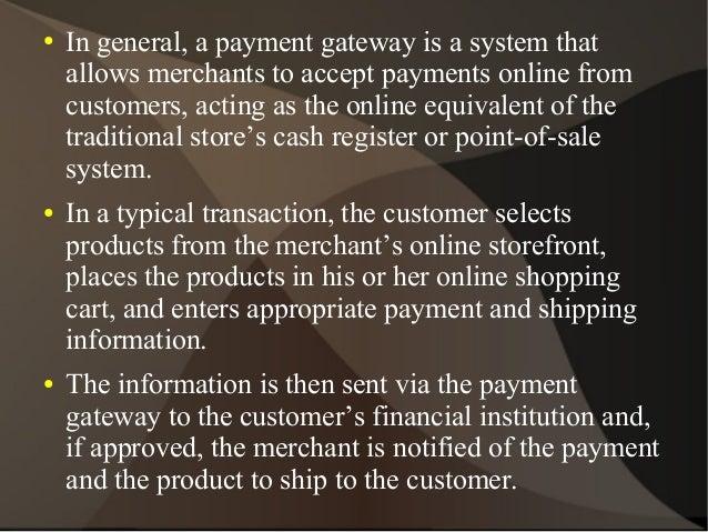 Merchant services direct payment gateways  Slide 3