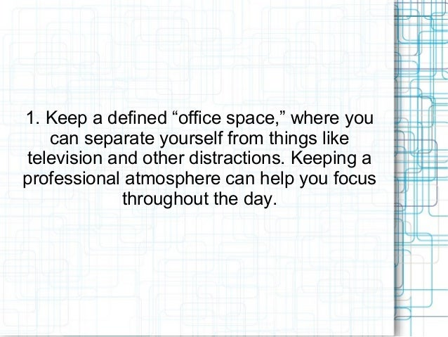 Merchant Services Direct: Tips for Success in a Virtual Office Slide 3
