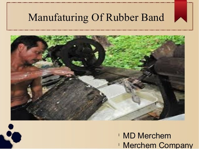 Manufaturing Of Rubber Band l MD Merchem l Merchem Company