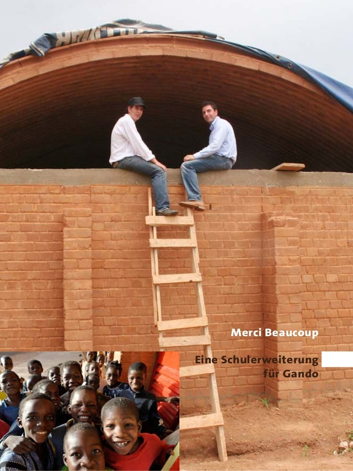 Merci Beaucoup  Eine Schulerweiterung             für Gando